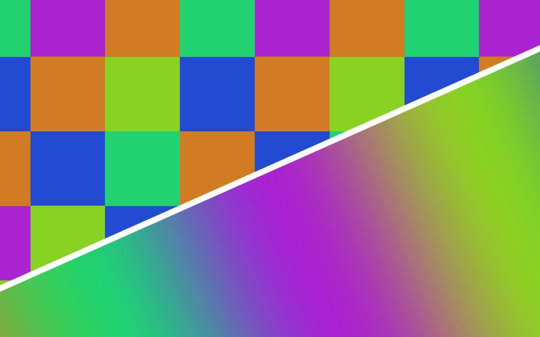 Vektor? Pixel? Was ist was?