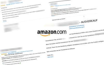 Amazon Schnäppchen – die dreiste Betrugsmasche